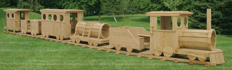 6 Piece Train Set